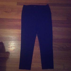 Ann Taylor Loft Marisa skinny navy blue pants